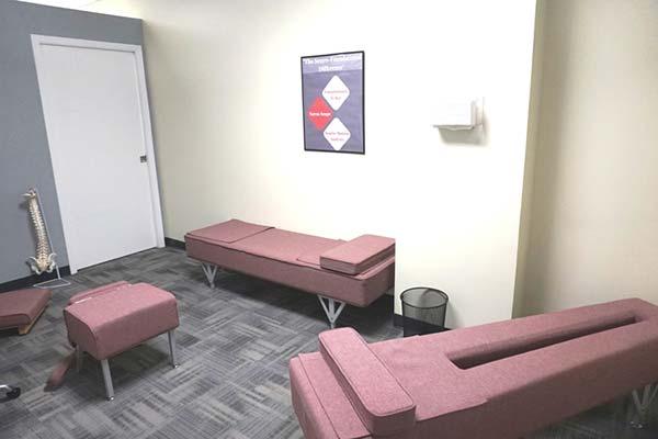 Chiropractic Kapolei HI Adjusting Room